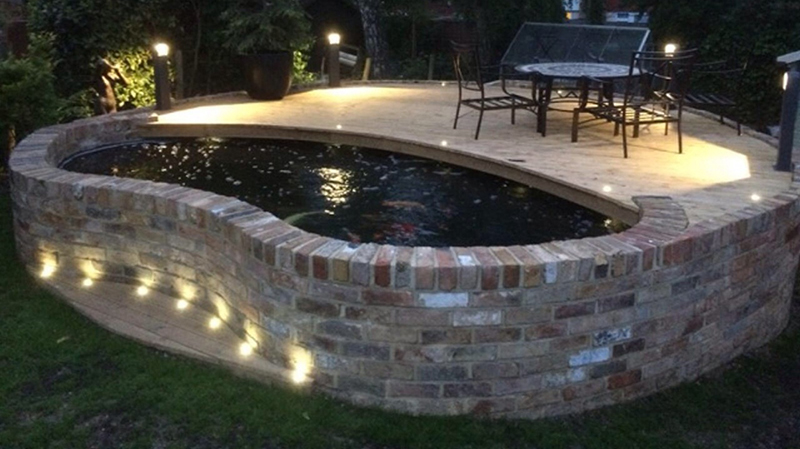 koi pond construction in essex london and surrounding