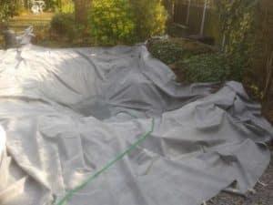 pond liner repair