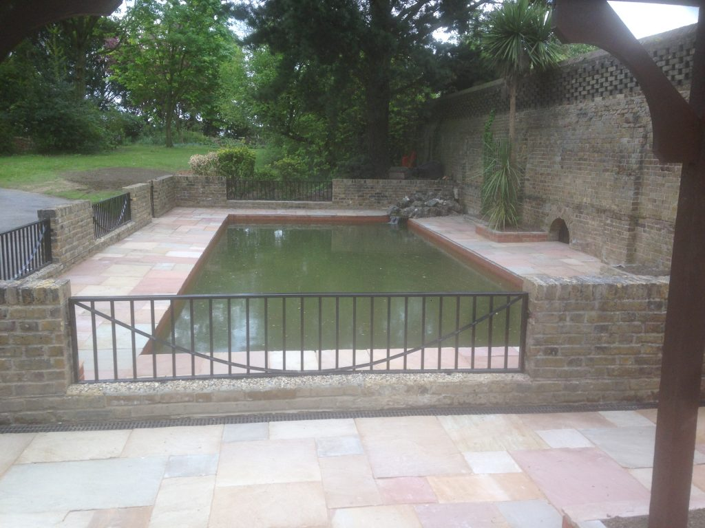 Pond Refurbishment London